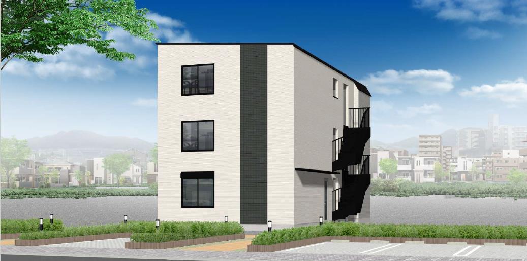 ◆新築1棟アパート◆表面利回り8.09%◆京成本線 堀切菖蒲園駅徒歩12分◆2019年9月末竣工◆